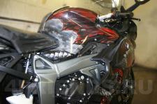 аэрография BMW мотоцикл Дракон   - фотография 4