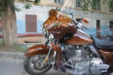 мотоцикл Harley Davidson-аэрография 2