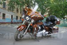 мотоцикл Harley Davidson-аэрография 3