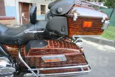 мотоцикл Harley Davidson-аэрография 5