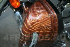 мотоцикл Harley Davidson-аэрография 7