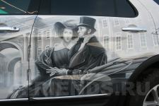 Ford Explorer Пушкин-аэрография 2