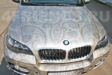 аэрография BMW x6 Узор   - фотография 3