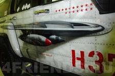 аэрография Hummer H3 Самолет - фотография 2