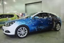 аэрография Opel Astra Аниме - фотография 2