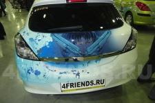 аэрография Opel Astra Аниме - фотография 4
